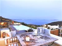 Example of 2 bedroom villa terrace with view