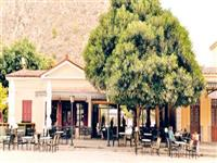Nafplio. The old station