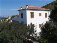 A two storey house with 4 bedrooms, and the wonderful sea views