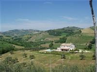 Private and not overlooked. 5 minutes drive from the town. Large swimming pool. Spectacular views.