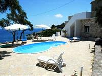 Large Sea View Terrace, Stone Built Villa in its Own Beautiful Garden.