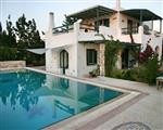 Cycladic style house with pool